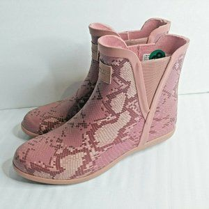 London Fog Rain Boots Women Size 9 Piccadilly